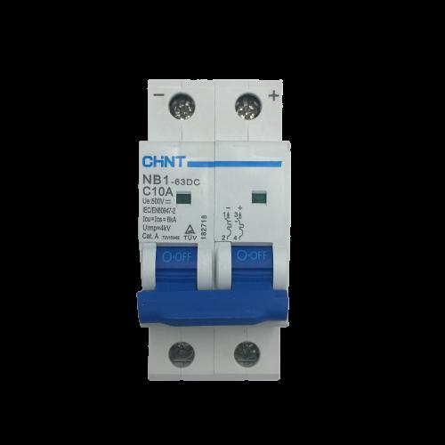 Aptomat DC NB1-63DC 2P 10A