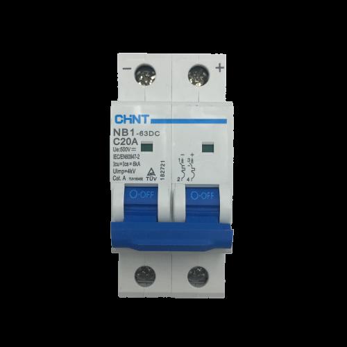 Aptomat DC NB1-63DC 2P 20A