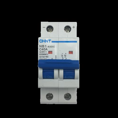 Aptomat DC NB1-63DC 2P 40A