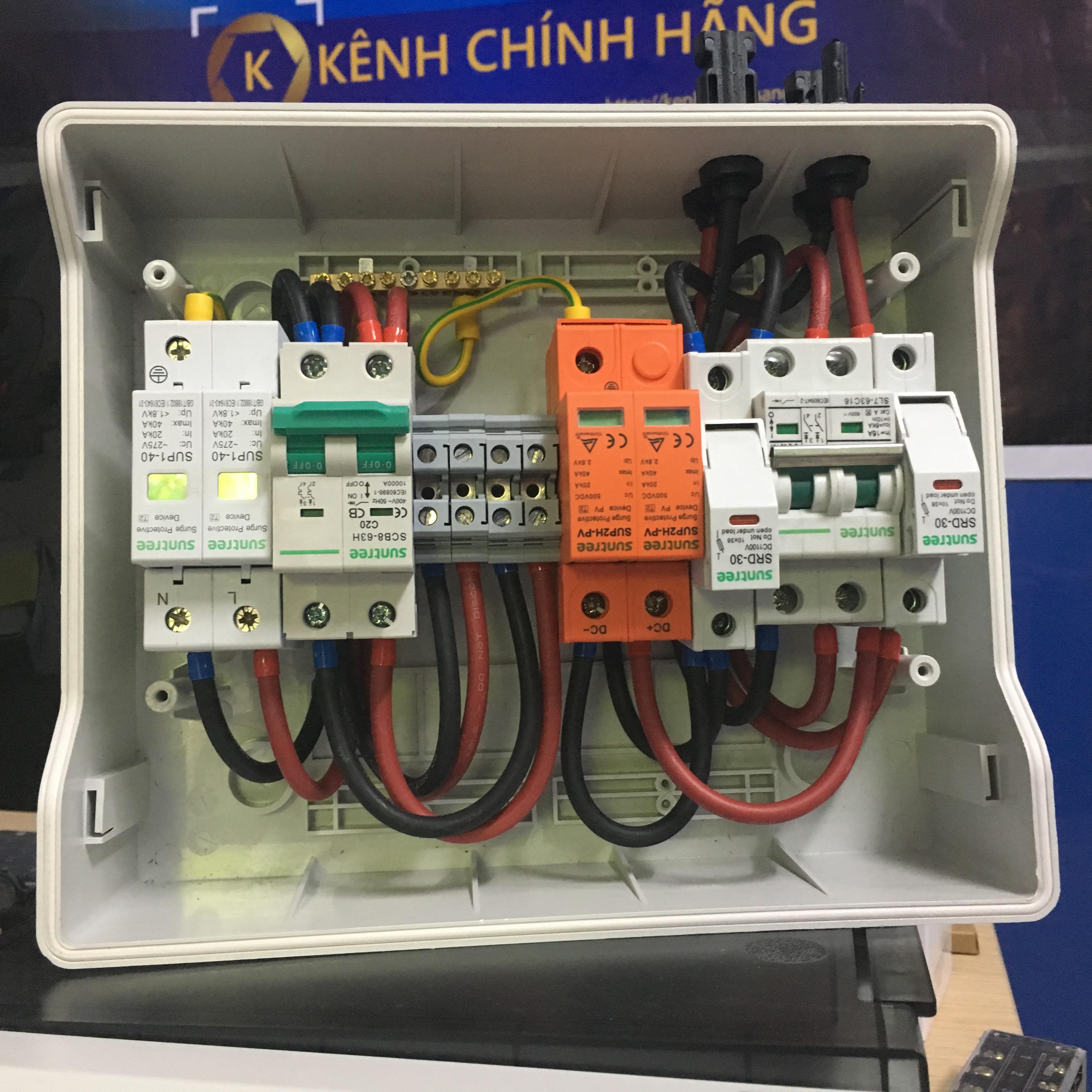 Bộ KIT Solar 1 pha 3KW (1 string 1 MPPT)