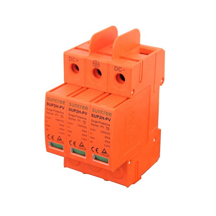 Chống sét DC Suntree 2P/20-40kA/500VDC