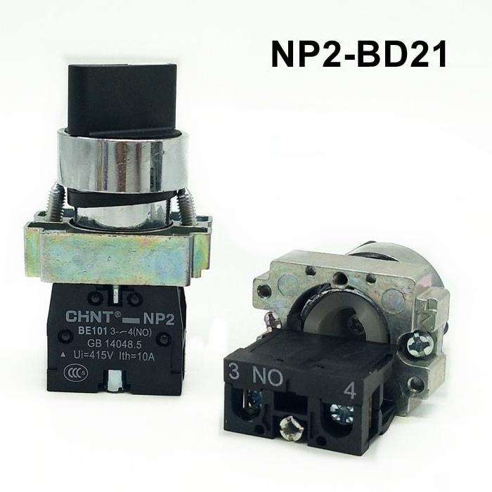 Chuyển mạch 2 vị trí giữ: NP2-BD21