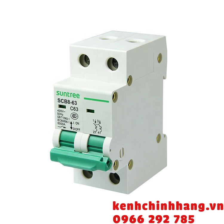 [Suntree] Aptomat bảo vệ mạch AC MCB 2P 20A 10kA