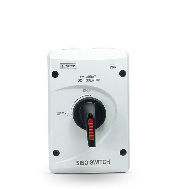 [Suntree] Hộp cầu giao ngắt mạch DC 32A 1000V SISO-40/32