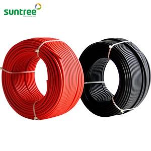Cáp điện đơn 1x6mm vỏ đen / đỏ PV1-6B