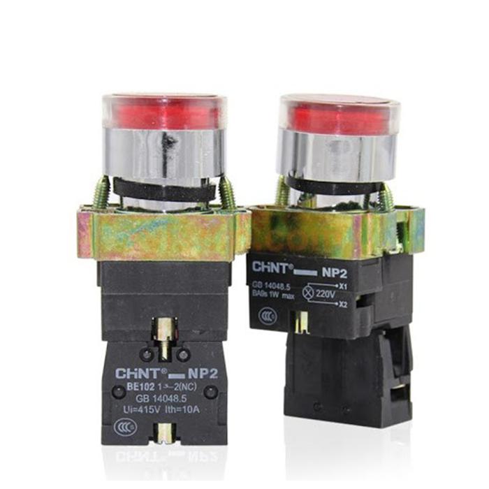 Nút nhấn có đèn: NP2-BW3462